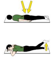 Übungsprogramm nach Hüft-OP - Übung 3