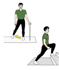 Übungsprogramm nach Hüft-OP - Übung 2