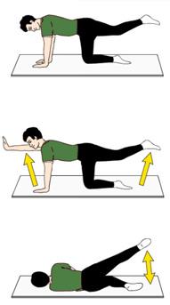 Übungsprogramm nach Hüft-OP - Übung 4